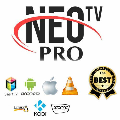 Détails sur 🔥NEO TV Pro IP-TV(✔️M3U✔️SMART TV✔️ANDROID ✔️MAG) Abonnement 12 mois